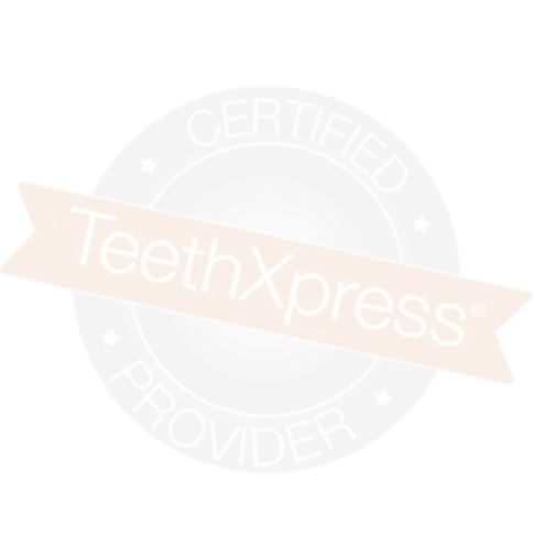 TeethXpress Certified logo Chattanooga TN